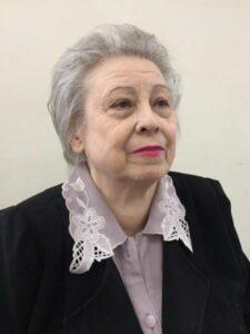 Попова Нина Тимофеевна, заслуженный работник культуры РФ Волжский